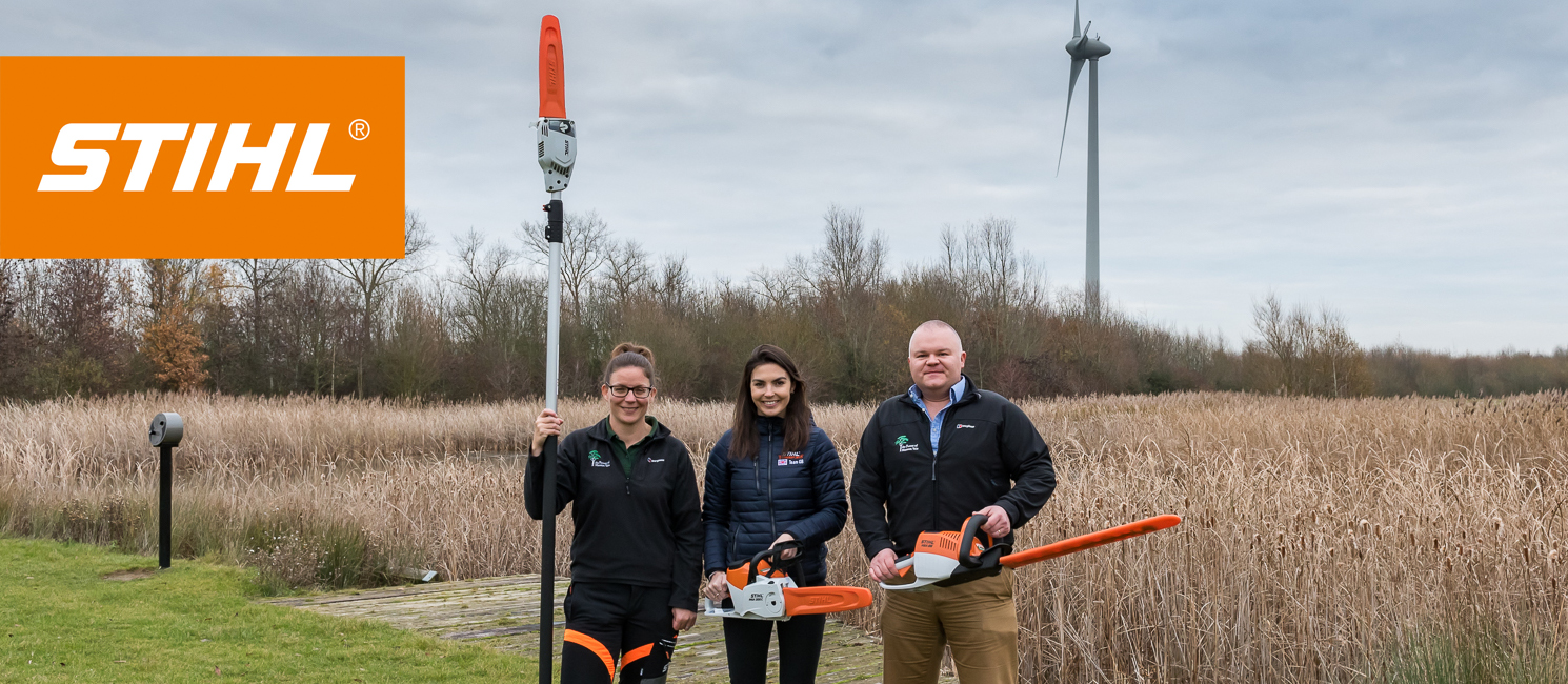 Stihl present the Forest with equipment