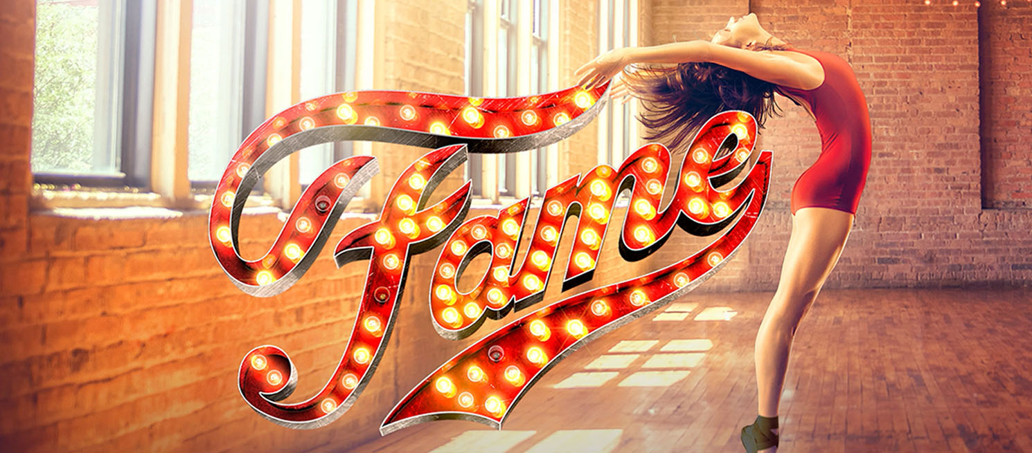 Poster for Fame the musical