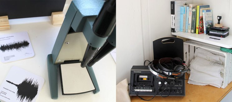 Microscope and sound equipment