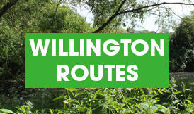 Willington routes button