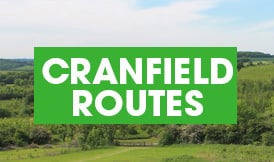 Cranfield routes button