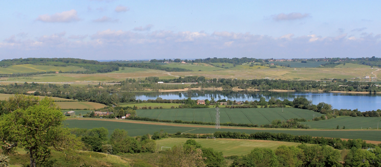 View from Folly Wood, Lidlington