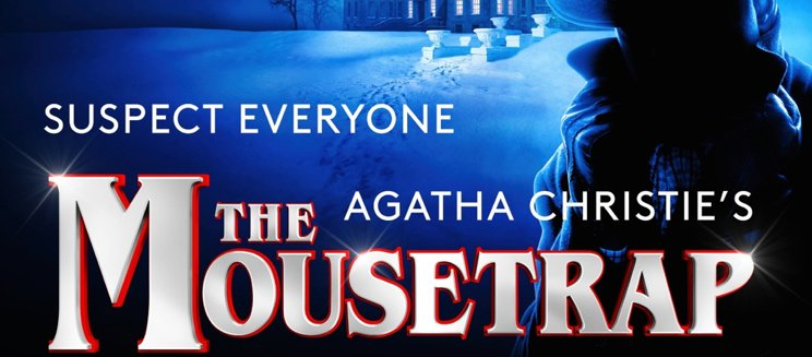 Promo image for the Mousetrap UK Tour
