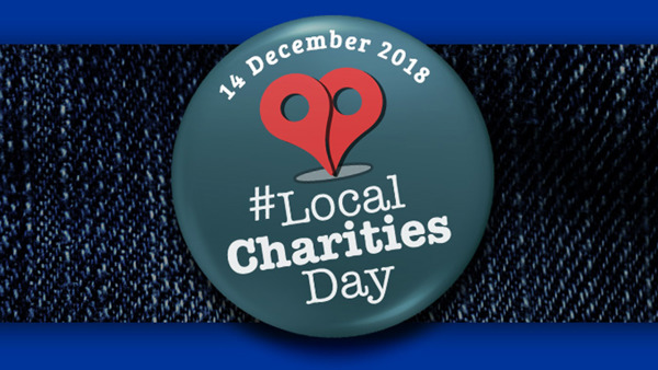 Local charities day logo
