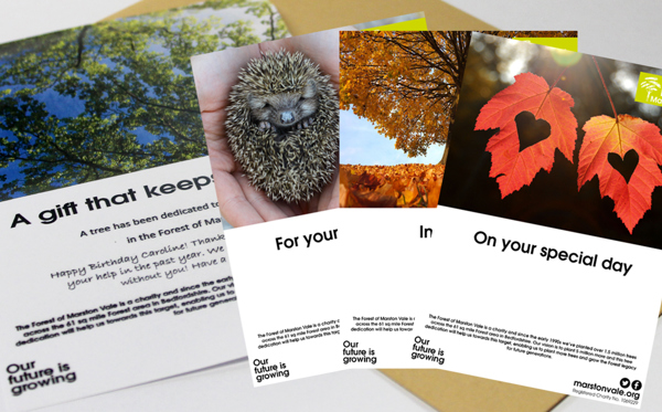 £25 - Dedicate a Tree (with posted certificate)