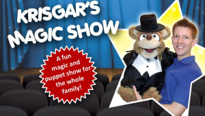 Krisgar Magician and Teddy puppet