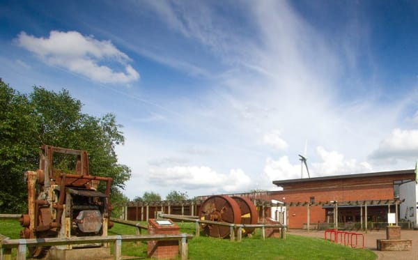 The Forest Centre in summer