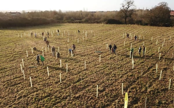 Wilstead Community Woodland - Photo by Bedfordshire Young Farmers